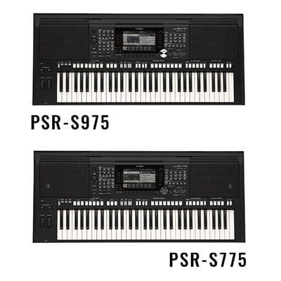 yamaha introduces the psr s975 and psr s775 versatile arranger workstation keyboards loaded. Black Bedroom Furniture Sets. Home Design Ideas