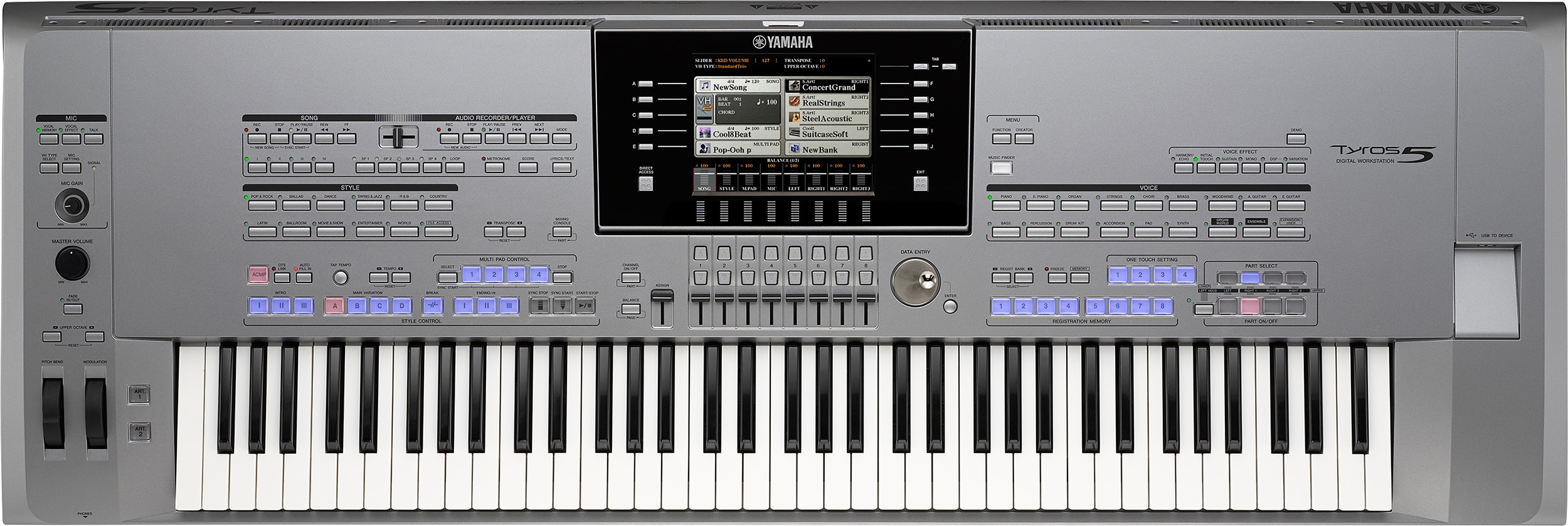 Yamaha Organ Demonstration